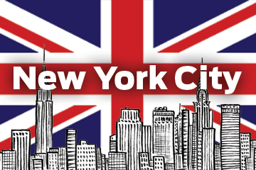 British in NYC