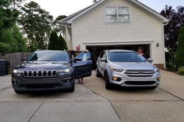 Picking up their Jeep - International AutoSource