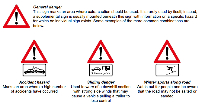 Moving To Germany Here S What You Need To Know About German Traffic Signs International Autosource