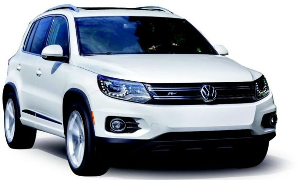 volkswagen reveals new r line for 2014 tiguan. Black Bedroom Furniture Sets. Home Design Ideas