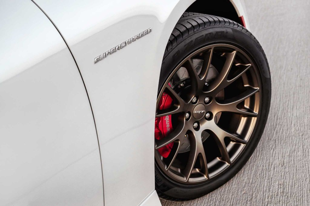 Dodge Charger Hellcat Wheel