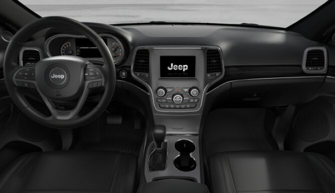 2018 Jeep Grand Cherokee Limited 4x4 Interior