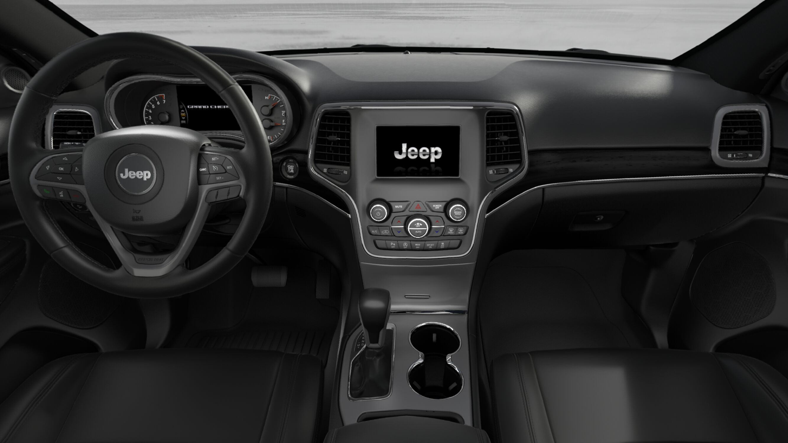 Ias vehicle spotlight the 2018 jeep grand cherokee limited for Interior of jeep cherokee 2017
