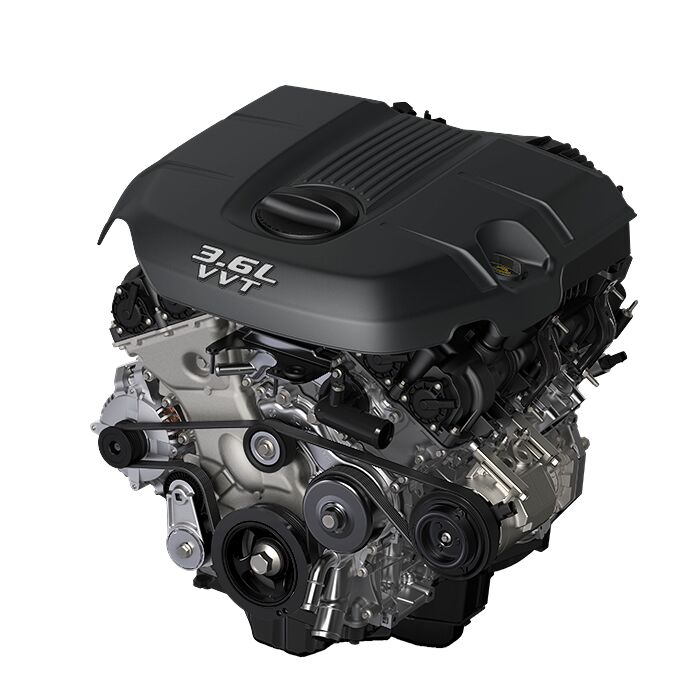The 3.6L Pentastar® V6 engine