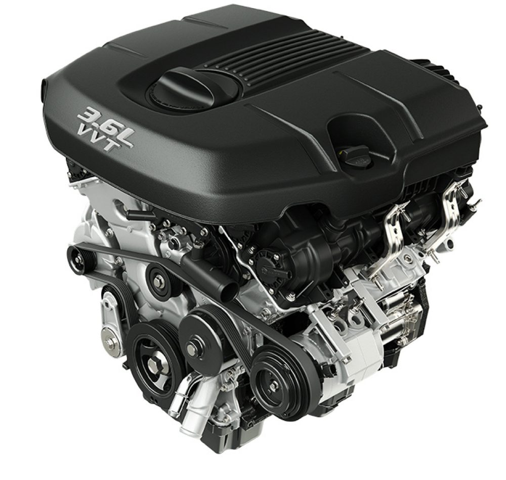 AWARD-WINNING 3.6L PENTASTAR® V6 ENGINE
