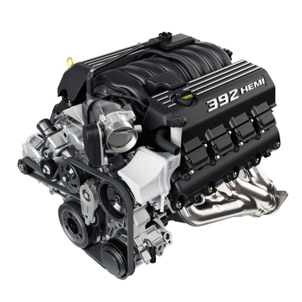 6.4L HEMI® V8 ENGINE