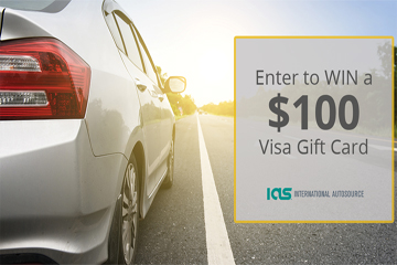 Want to be entered to win a $100 Visa gift card? Visit the