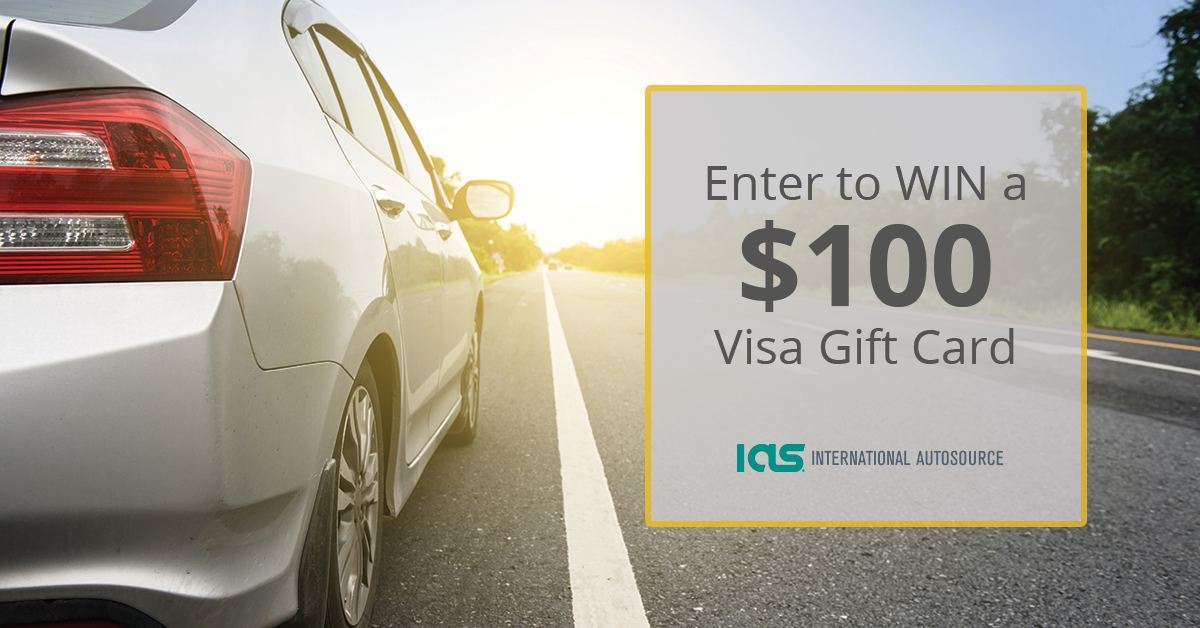 Enter to win a $100 Visa Gift-Card