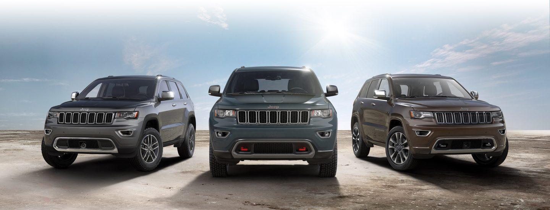 Jeep SUV Lineup